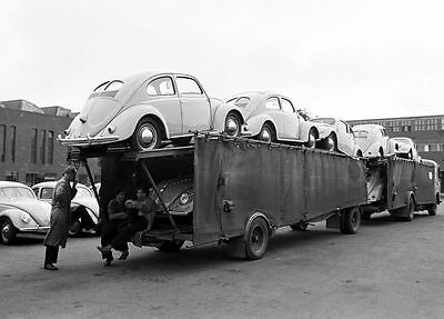 VW Plant Wolfsburg plant in 1951 8 x 10 photograph