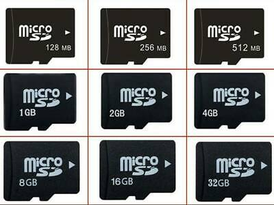 Real 128mb-8gb Micro SD TF Memory Card for Android Smartphone Tablet MircoSD LOT