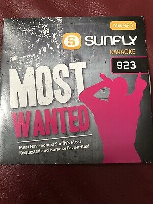 Most Wanted Performance & Dj Equipment Sunfly Karaoke Cdg Disc Sf834
