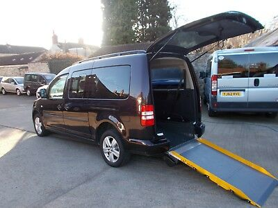 Wheelchair Accessible Wav Disabled Mobility 2013  Volkswagen Caddy Maxi 5 Seats