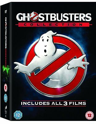 Ghostbusters 1 2 3 Trilogy Collection (Blu-ray, 3 Discs, Region Free) *NEW*
