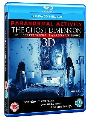 Paranormal Activity - Ghost Dimension (3D + 2D Blu-ray, 2 Discs, Region Free)