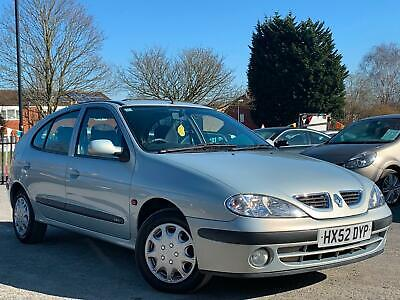 Renault Megane 1.4 Expression Plus 5 Door, Wow Only 61K Miles + Mint Condition !