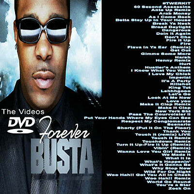 Busta Forever Dvd Music Videos Hip Hop R&b Rap Dvd