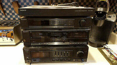 Sony Vintage Stereo Deck PS-LX295, ST-JX295,TC-W295,TA-AX295,Complete Working