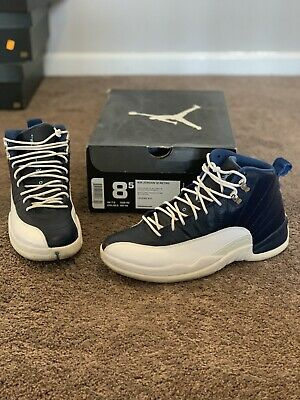 ce521ffafd2b NIKE AIR JORDAN 12 Retro Obsidian 2012 Sz 8.5 130690-410 Authentic ...