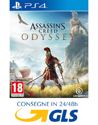 Assassin's Creed Odyssey Ps4 Playstation 4 Nuovo Sigillato Italiano