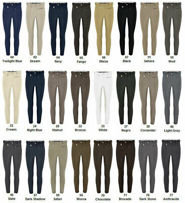 Pikeur Princesse Breeches ladies negro dark grey knee patch size 46 UK 18