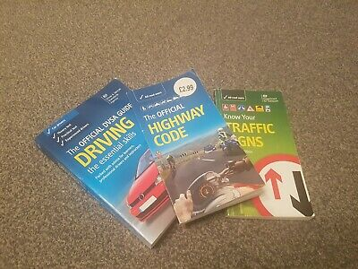 The Official DVSA Guide to Driving, Highway code and Know your traffic signs