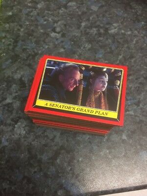 Topps Star Wars Rogue One Mission Briefing Full Base Set
