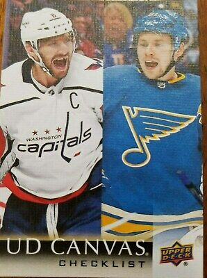2018-19 Upper Deck Series 2 - CANVAS BASE CARDS (C1212-C210) - Pick from list