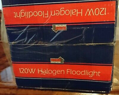 Halogen Security Flood Lights 120W With Pir Motion Sensor & 400W Without Pip Mo