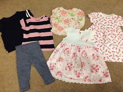 Such Beautiful Summer Bundle Of Baby Girl Clothes 9-12 Months