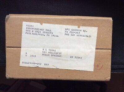 (5) 1987 U.S. Mint Uncirculated Sets. Sealed Original Unopened Shipping Package.