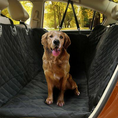 Pet Dog Car Back Seat Cover Protector Waterproof Travel Hammock Style Rear NEW