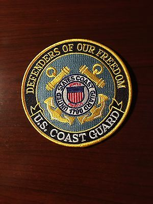 United States Coast Guard Tribute Patch Defenders of Our Freedom