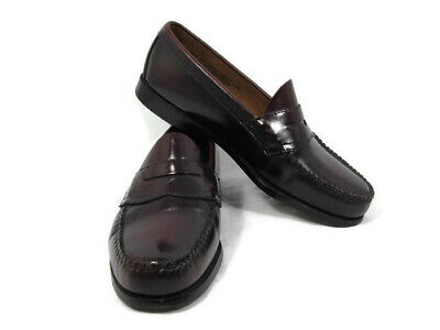 aad310f3f31 G H Bass Weejuns Men s Casual Shoes Brown Leather Slip On Loafer 10.5EE