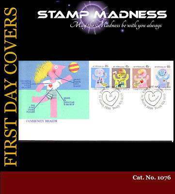 AUSTRALIA FIRST DAY COVERS Community Health 1990 Bulk Estate Buy