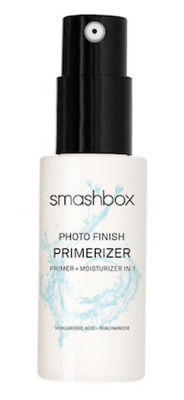 SMASHBOX Photo Finish Primerizer Mini - Primer & Moisturizer in 1 - 0.5 oz. New