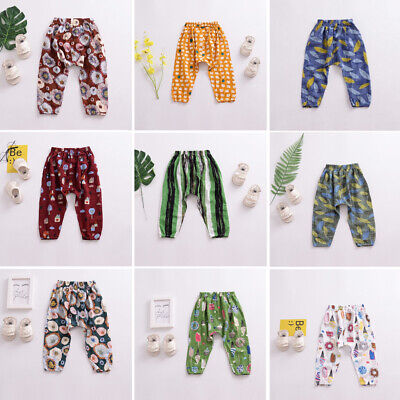 Baby Boy Girl Summer Trousers Toddler Legging Mosquito-proof Clothes Pants 6M-5Y
