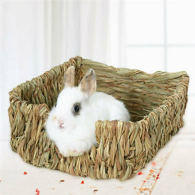 Cages  Natural Bed and Grass Nest for Guinea Pigs Chinchillas and Rabbits Pets