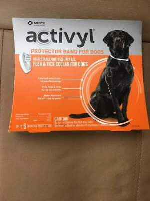 Activyl Protector Band/Collar for Dogs (Flea and Tick Protection for 6 months)