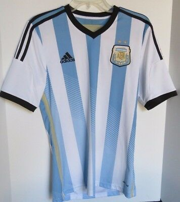 541cabfd7 Argentina AFA Adidas Climacool Home Soccer Jersey shirt - Men s Size S