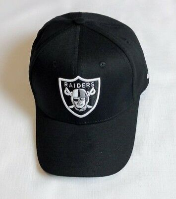 Plain Oakland Raiders Adjustable Size Football NFL Cap NY Unisex Baseball Hat