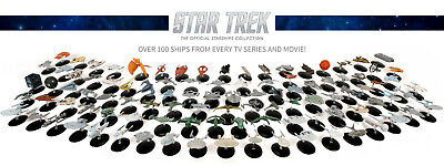 Eaglemoss Star Trek Diecast model #60-119 w magazine Starships Official