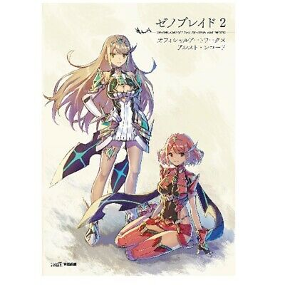 XENOBLADE 2 Official Art Works Alst Record Art Book From Japan with tracking
