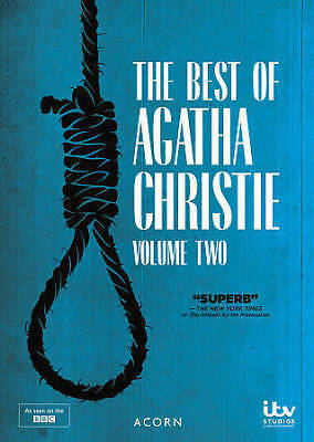 The Best of Agatha Christie: Volume Two (DVD, 2017, 2-Disc Set) VERY GOOD