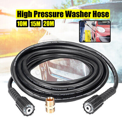 5800PSI 10M/15M/20M High Pressure Washer Clean Hose M22-M22 For KARCHER K Series