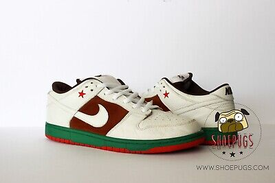 size 40 bdcef 44372 2004 NIKE DUNK SB Low Cali sz 13 white pecan used supreme | TRUSTED SELLER
