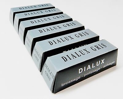 3 Pack 4 oz Red Green White Dialux Compounds Jewelry Making Metal Polishing Cleaning Abrasive Finishing Set