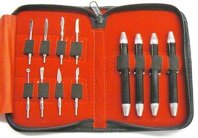 Wax Carving Set 8 Tools Designing Modeling Sculpting Metal Clay Wax Carvers Tool