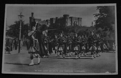 Vintage postcard Scotland Inverness In The Land of Kilts And Tartans JB White