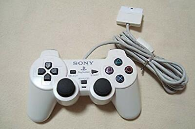 PS2 Official Analog Controller Ceramic White Dualshock 2 Sony Japan