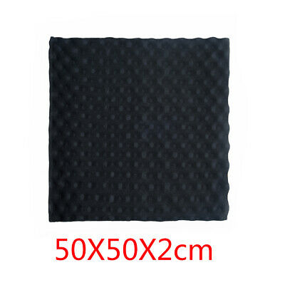 Acoustic Wall Panels Sound Proofing Foam Pads Studio Treatments Tool 50*50*2cm