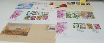 First Day Of Issue Lot Of Envelopes Orchids Scouting Horses Aborigines X20!