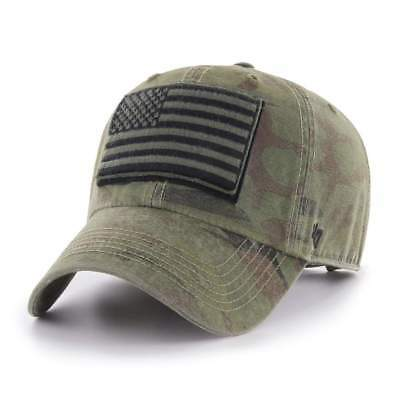 military camo OPERATION HAT TRICK MOVEMENT '47 CLEAN UP hat cap casquette NEW !