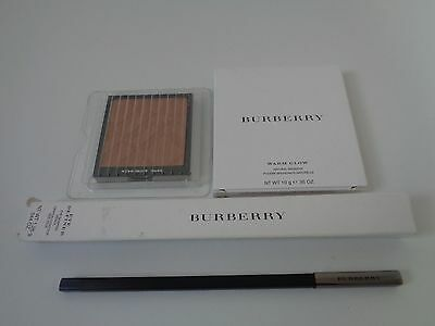 Burberry shaping pencil 1.26g midnight blue No.04 + Burberry nude glow No.03