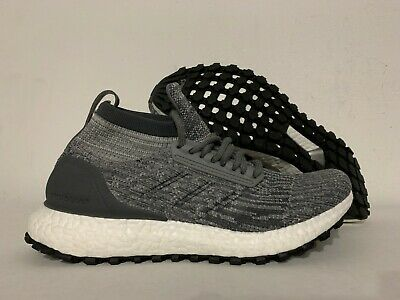 Adidas UltraBOOST Ultra Boost All Terrain J Kids Youth Running Shoes Grey CG3799