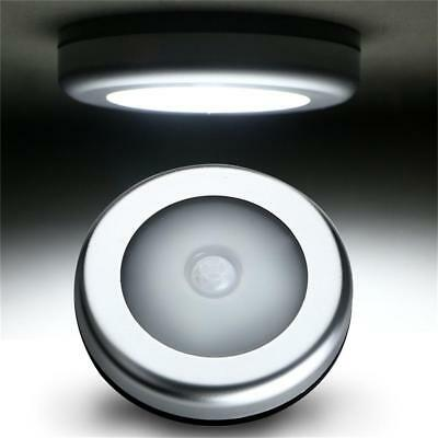 6 LED Wireless PIR Motion Sensor Night Light Cabinet Wardrobe Wall Lamp Magnetic