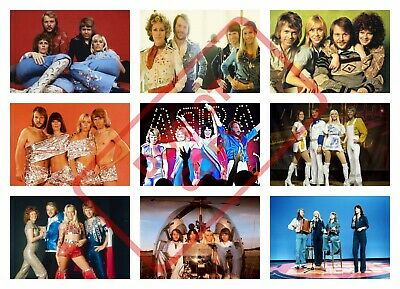 /'ABBA/' A4 POSTER PRINT POSTED WITHIN 24 HOURS OF CLEARED PAYMENT a /'FREE/'.