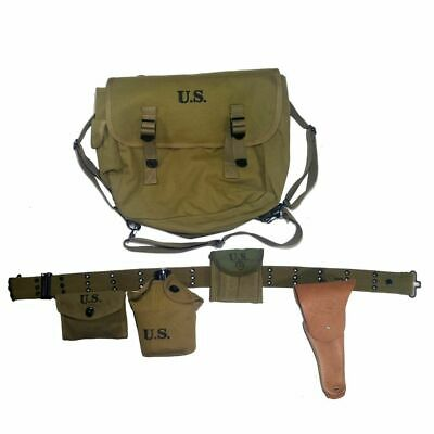 Wwii Us Army Soldier Military Full Set M36 Backpack Haversack 1911 Holster
