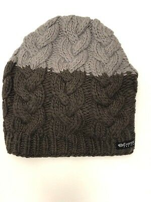 a131ca0c6 EVEREST DESIGNS WOOL Beanie Handmade Nepal Chunky Cable Knit Milano ...