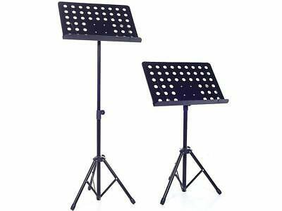 Heavy Duty Designed Fully Adjustable Orchestral Music Sheet Stand For Musician