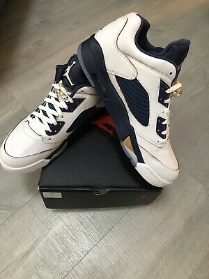 """premium selection 6ce4d e7997 NIKE AIR JORDAN 5 Retro Low """"Dunk From Above"""" Style # 819171-135 Size 12"""