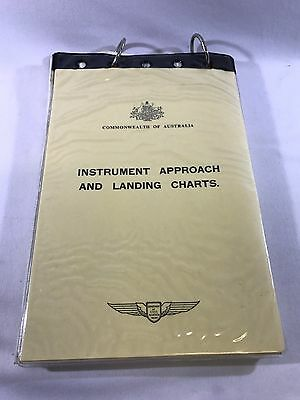Vintage Instrument Approach And Landing Charts 1969 VGF-AGA 0-1 Aviation Plane