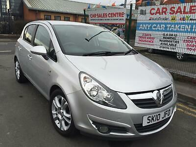 VAUXHALL CORSA SXI 1.2i 16v 2010 5 DOOR *LOW 24,415 MILES *HPI CLEAR *8 S/STAMPS